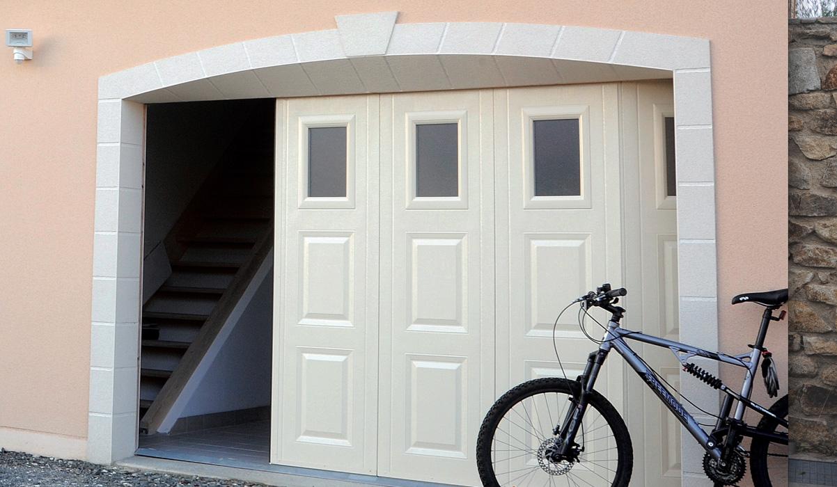 porte de garage installation 77